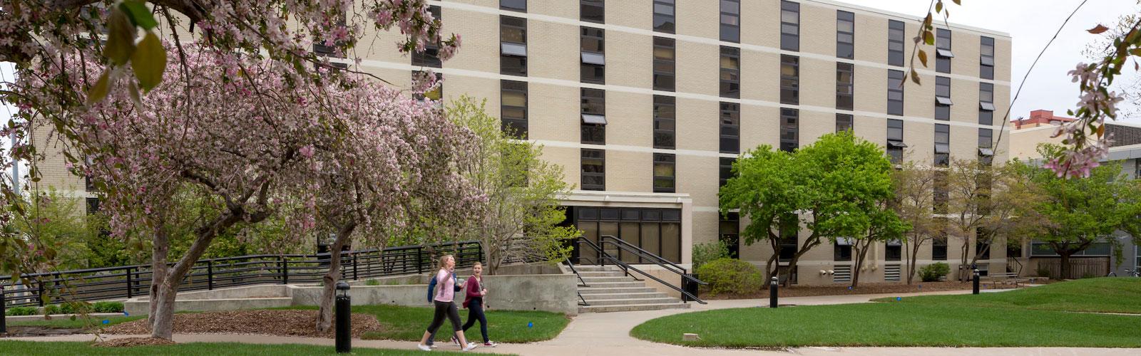 Deglman residence hall Creighton University
