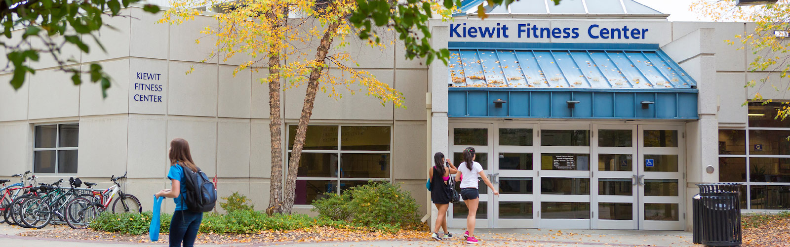 outside view of Kiewit Fitness Center
