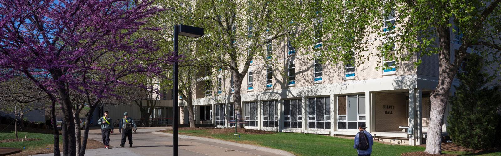 Kiewit residence hall at creighton